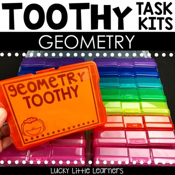 Toothy™ Task Kits - Geometry (2D and 3D shapes)