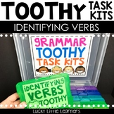 Identifying Verbs Toothy™ Task Kits