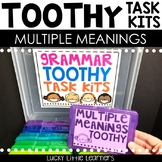 Multiple Meaning Words Toothy™ Task Kits