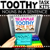 Nouns in a Sentence Toothy™ Task Kits
