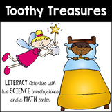 Toothy Treasures: Ready to go Literacy Activities (with a math center)