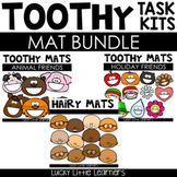 Toothy® and Hairy Mat Bundle