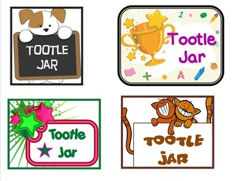 Tootle Jar- A Great Way to Teach Students to Stop Tattling! Improves Behavior!
