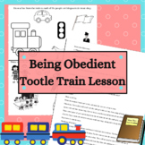 Tootle Train Lesson Being Obedient