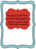 Tootling for Teacher Peer Recognition