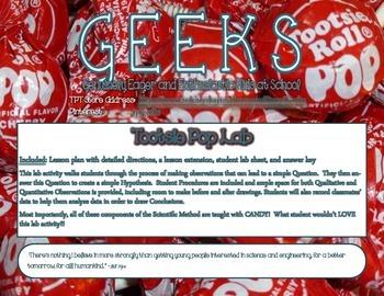 Tootsie Pop Lab: The Scientific Method of Eating a Tootsie Pop