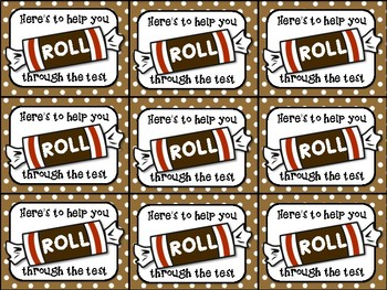 Tootsie Roll Testing Motivation Treat Tags by Highs and ...
