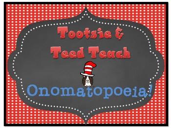 Tootsie & Teed Teach Onomatopoeia - The Name I Make!