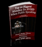 Top-10 Biggest Mistakes To Avoid When Public Speaking by Scott Topper