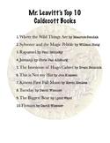 Top 10 Caldecott Books
