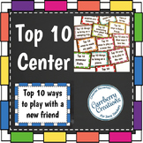 List Writing Center Activities for the Year