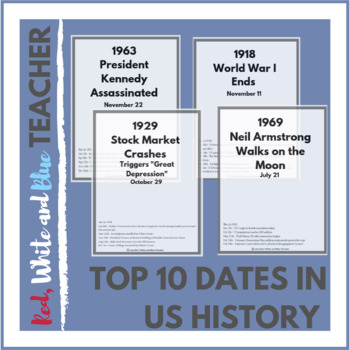 Top 10 Dates in US History