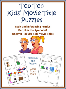Top 10 Kids' Movies Inferencing & Logic Puzzles