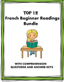 French Beginner Readings: Top 12 Most Popular Lectures en Français @40% OFF!
