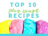Top 10 Playdough Recipes