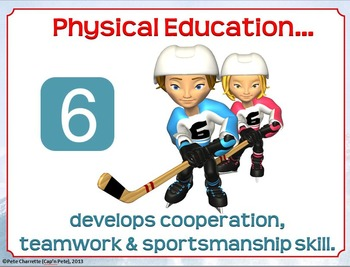 Top 10 Reasons for Physical Education- Printable Display Signs