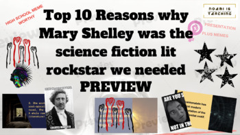 Top 10 Reasons why Mary Shelley was the Feminist sci-fi lit rockstar we needed