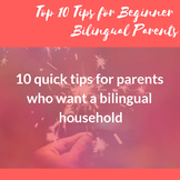 Top 10 Tips for Bilingual Parenting
