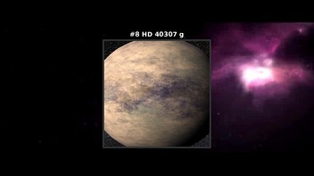 Top 10 potenitially habitable planets to live on - Power point
