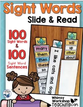 Sight Words : Sight Words No Prep Bundle