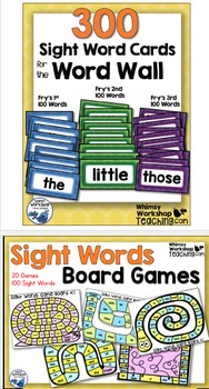 Sight Words : Sight Words No Prep Bundle