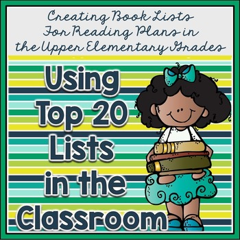 Create Top 20 book lists by genre, in groups, by grade level, or even school wide. Kids love book recommendations from other kids, and this free resource will help you put it all together