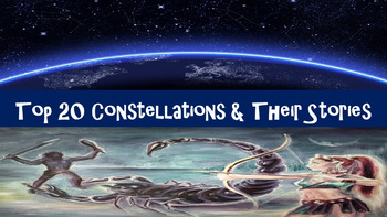Top 20 Constellations Power Point with Greek Mythology Origins