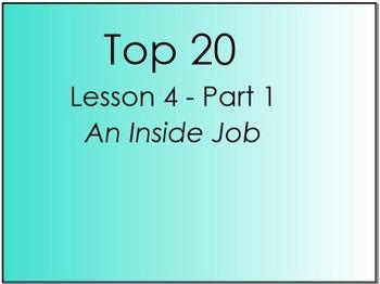 Top 20 Lesson 4, Part 1 (Primary Version)