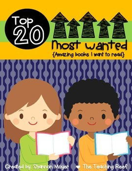 Top 20 Most Wanted {Finding books I want to read}
