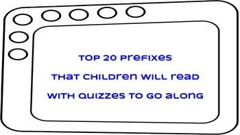Top 20 Prefixes with Quizzes
