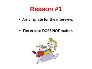 Top 4 Reasons People Don't Get Hired & Looking Appropriate for an Interview