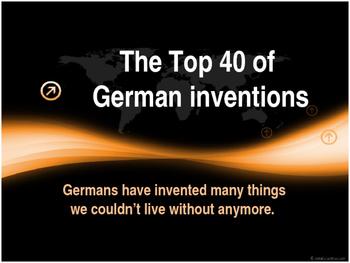 Top 40 of German Inventions - Quiz