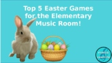 Top 5 Easter Activities for the Music Room