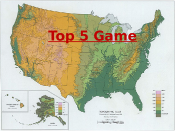 Top 5 Geography Game # 2