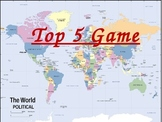 Top 5 Geography Game