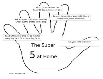 Top 5 Things to Be Doing at Home (Dual Immersion - Spanish