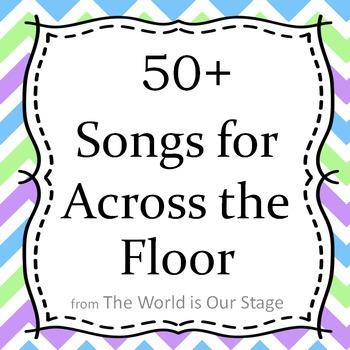 50+ Across the Floor Dance Songs