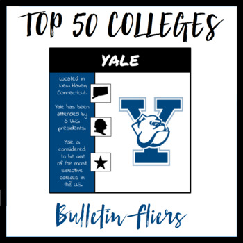 Top 50 Colleges and Universities
