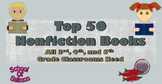 Top 50 Nonfiction Books That All 3rd, 4th, and 5th Grade C