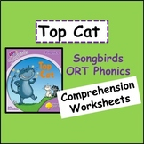 Top Cat (Oxford Reading Tree Songbirds Phonics Stage 1) Co