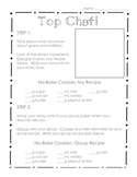 Top Chef - 3rd Grade Common Core Measurement Cooking Activity