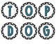 Top Dog Bulletin Board Sign Black and Teal