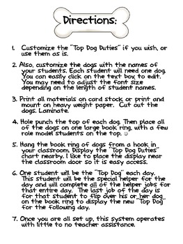 Top Dog Classroom Helper Kit