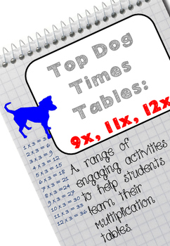 Multiplication Tables: A range of exciting activities on 9x, 11, 12x
