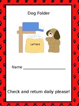 Dog Parent Communication Packet (Editable)