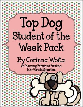 Top Dog Star of the Week Packet and Poster