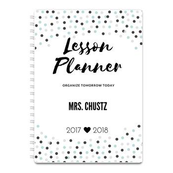 Top Form Teacher Lesson Planner 2017-2018
