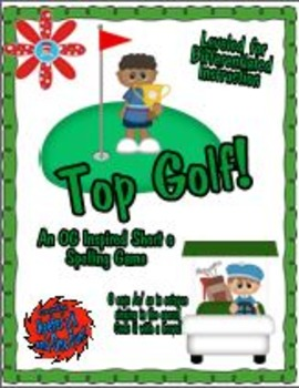 Top Golf! - An Orton Gillingham Short o Spelling Game