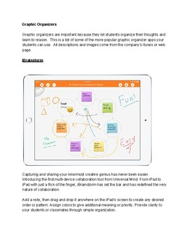 Top Graphic Organizer Apps