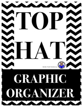 Top Hat Graphic Organizer (Compare and Contrast)